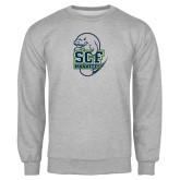 Grey Fleece Crew-SCF Manatees