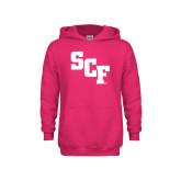 Youth Raspberry Fleece Hoodie-SCF