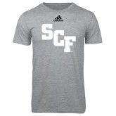 Adidas Sport Grey Logo T Shirt-SCF