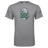 Grey T Shirt-SCF Manatees