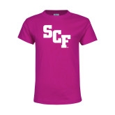 Youth Cyber Pink T Shirt-SCF