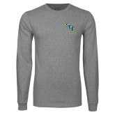 Grey Long Sleeve T Shirt-SCF