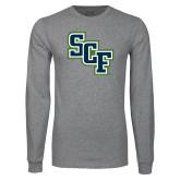 Grey Long Sleeve T Shirt-SCF