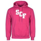 Fuchsia Fleece Hoodie-SCF