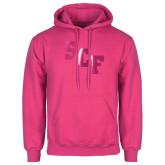 Fuchsia Fleece Hoodie-SCF  Foil
