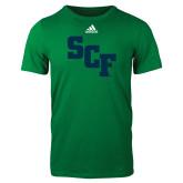 Adidas Kelly Green Logo T Shirt-SCF