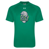 Under Armour Kelly Green Tech Tee-SCF Manatees