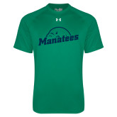 Under Armour Kelly Green Tech Tee-Manatees
