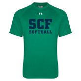 Under Armour Kelly Green Tech Tee-Softball