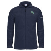 Columbia Full Zip Navy Fleece Jacket-SCF