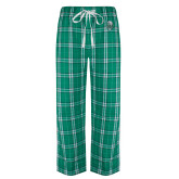Green/White Flannel Pajama Pant-SCF Manatees