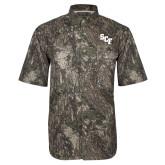 Camo Short Sleeve Performance Fishing Shirt-SCF