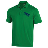 Under Armour Kelly Green Performance Polo-SCF