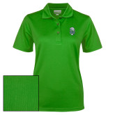 Ladies Kelly Green Dry Mesh Polo-SCF Manatees