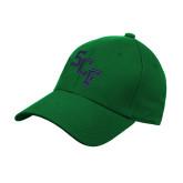 Kelly Green Heavyweight Twill Pro Style Hat-SCF