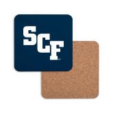 Hardboard Coaster w/Cork Backing-SCF