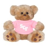 Plush Big Paw 8 1/2 inch Brown Bear w/Pink Shirt-SCF