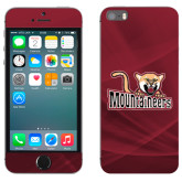 iPhone 5/5s Skin-Mountaineers w/ Mountain Lion