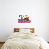1 ft x 2 ft Fan WallSkinz-Mountaineers w/ Mountain Lion