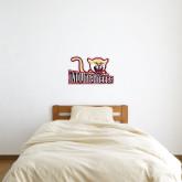 1 ft x 2 ft Fan WallSkinz-Mountaineers w/ Mountain Lion