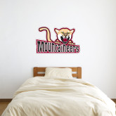 1.5 ft x 3 ft Fan WallSkinz-Mountaineers w/ Mountain Lion