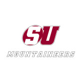 Medium Decal-SU Mountaineers, 8 inches wide