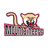 Medium Decal-Mountaineers w/ Mountain Lion, 8 inches wide