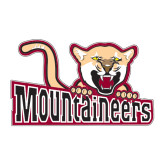 Large Decal-Mountaineers w/ Mountain Lion, 12 inches wide