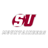 Extra Large Decal-SU Mountaineers, 18 inches wide