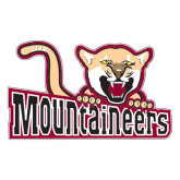 Extra Large Decal-Mountaineers w/ Mountain Lion, 18 inches wide