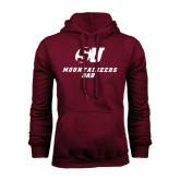Maroon Fleece Hood-Dad