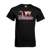 Black T Shirt-Mountaineers w/ Mountain Lion