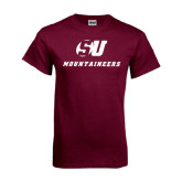 Maroon T Shirt-SU Mountaineers