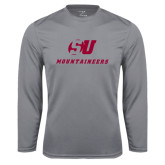 Performance Steel Longsleeve Shirt-SU Mountaineers