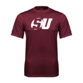 Performance Maroon Tee-SU