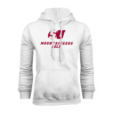 White Fleece Hoodie-Golf