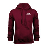 Maroon Fleece Hood-SU Mountaineers