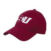 Maroon Heavyweight Twill Pro Style Hat-SU