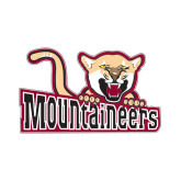 Small Magnet-Mountaineers w/ Mountain Lion, 6 inches wide