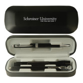 Black Roadster Gift Set-University Wordmark Engraved