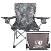 Hunt Valley Camo Captains Chair-Official Logo