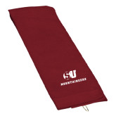 Maroon Golf Towel-SU Mountaineers