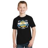 Youth Black T Shirt-Stockton University 2021 Volleyball Champs