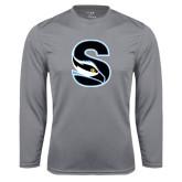 Performance Steel Longsleeve Shirt-Secondary Logo