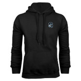 Black Fleece Hoodie-Secondary Logo