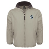 Khaki Survivor Jacket-Secondary Logo