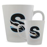 Full Color Latte Mug 12oz-Secondary Logo