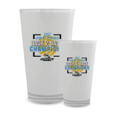 Full Color Glass 17oz-Stockton University 2021 Volleyball Champs