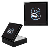 Ebony Black Accessory Box With 6 x 6 Tile-Secondary Logo