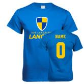 Royal T Shirt-Primary Logo, Custom Tee w/ Name and #
